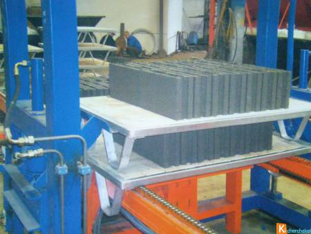 machine de bloc beton fabrication de paves, parpai