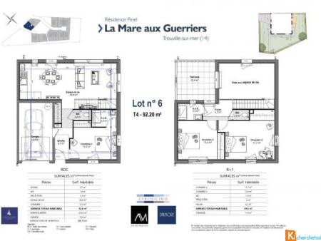 RESIDENCE CONTEMPORAINE (LOT N° 6) - Trouville-sur-Mer