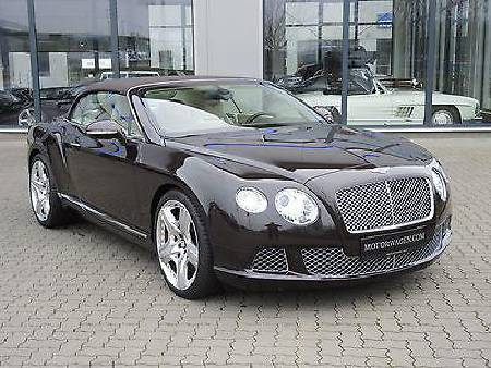 Bentley Continental GTC W12 M