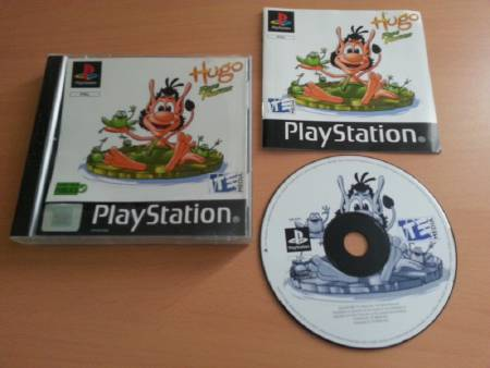 Jeu PS1 Hugo Frog Fighter