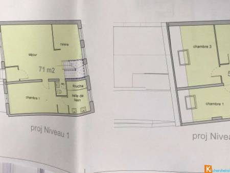 Appartement F6 - 124m² - Tourcoing