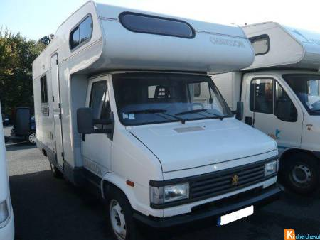 Camping car peugeot J5 chausson accapulco