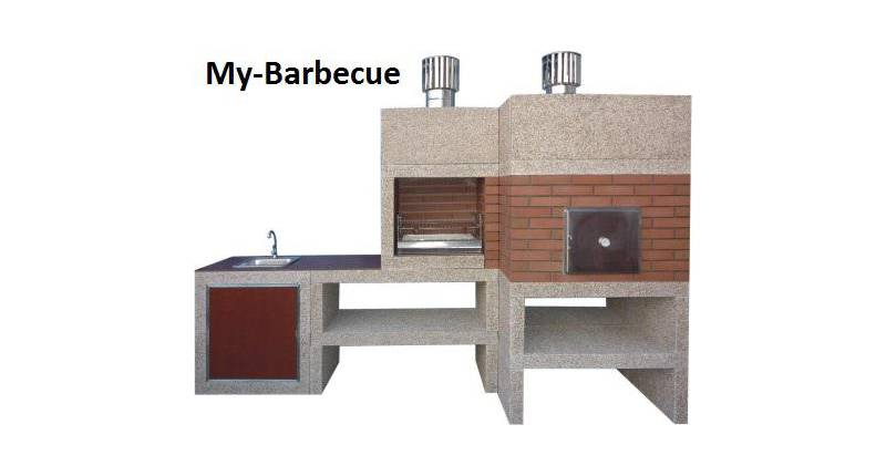 Barbecue Moderne Four et evier