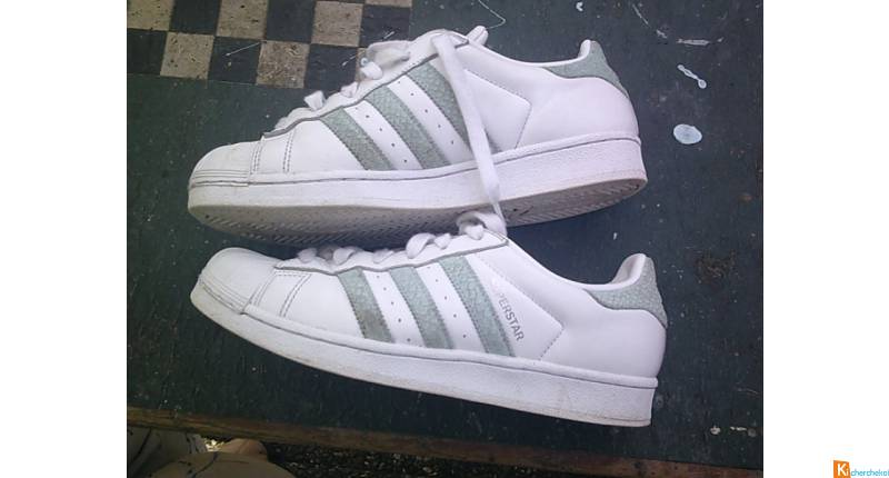 Baskets Mixte Blanc ADIDAS pt 40