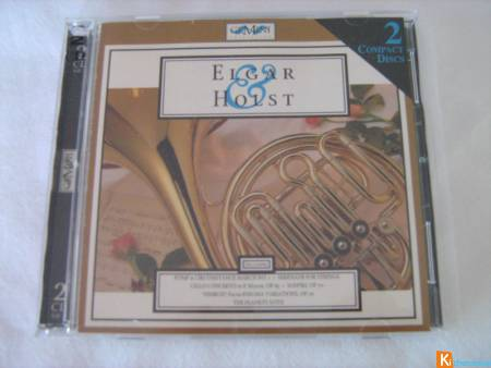 CD double Elgar & Holst