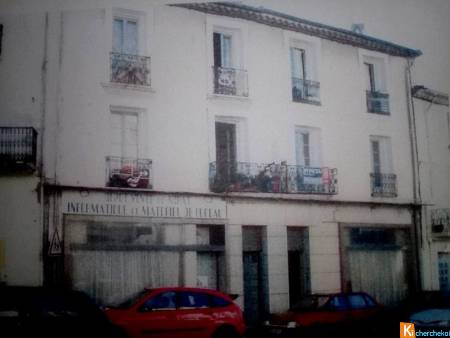 immeuble 10 apt +2 local commercial
