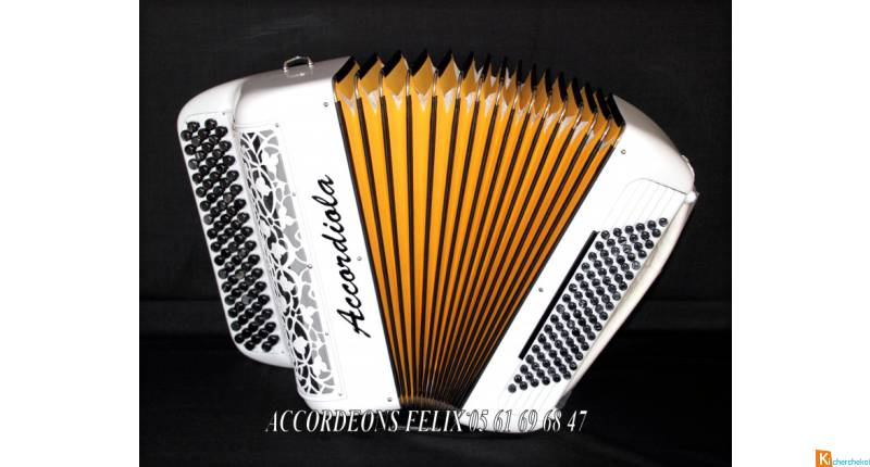 ACCORDEON ACCORDIOLA 012 Carbone Spécial Musette.
