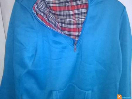 Sweat turquoise  NEUF  Taille L  Marque C-IN-C