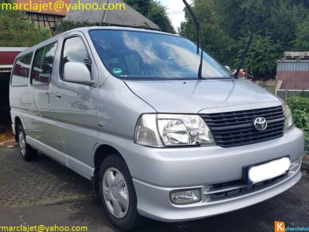 Toyota HiAce D-4D Facelift 9 places