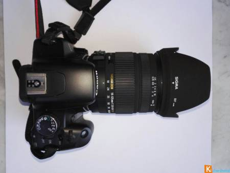 Canon 450D Objectif Sigma occasion