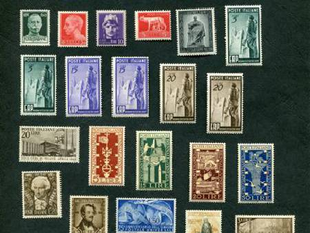 TIMBRES ITALIE NEUFS - 45 A 49