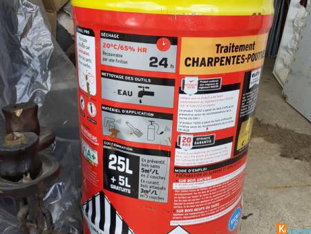XYLOPHENE 30 Litres-CECIL TX 202-MOTEX DRY WEBER-M