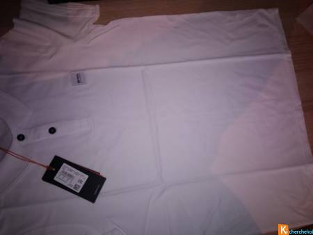 Polo Hugo boss blanc