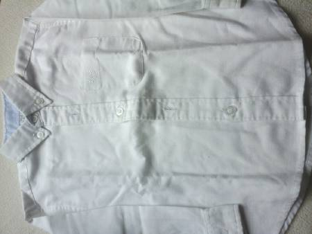 Chemise blanche manches longues 3 ans