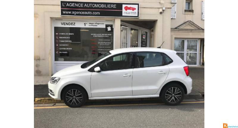 Volkswagen Polo 1.2 Tsi 90ch Bluemotion Technology Match 5p 1ere Main!