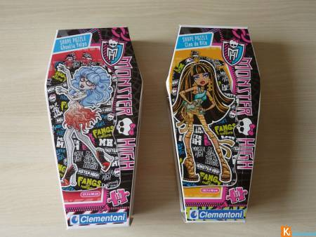 Monster High Cleo De Nile-Ghoulia Yelps (lot1)