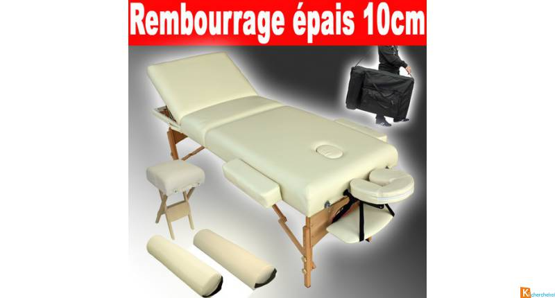 Table de massage 79 eu sur Massagefrance