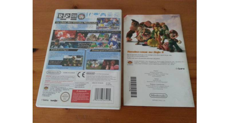 Jeu Wii Super Smash Bros Brawl