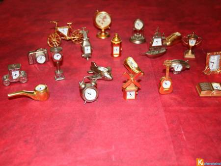 Collection mini horloge