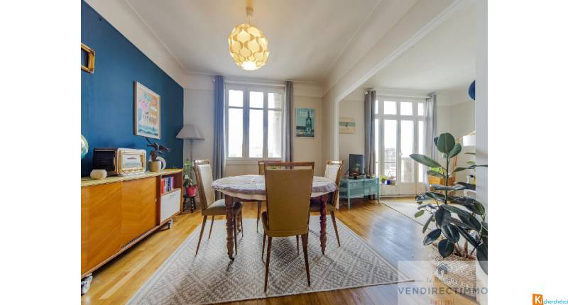 Appartements T3 + T2 en Centre Ville