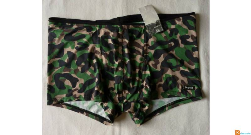 Maillot de bain homme boxer taille XL neuf (103)