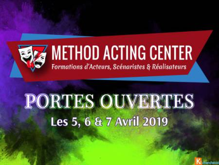 Portes Ouvertes AVRIL 2019 - Method Acting Center