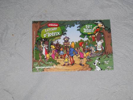 billet parc asterix adulte