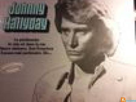 Disque 33 t - Johnny Hallyday