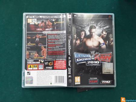Smack Down vs Raw 2010 pour PSP