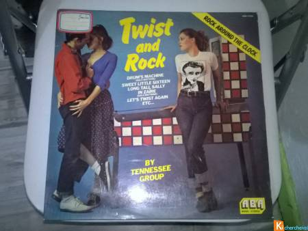 Vinyle The Tennessee Group  Twist And Rock