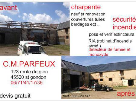 couvreur protection incendie