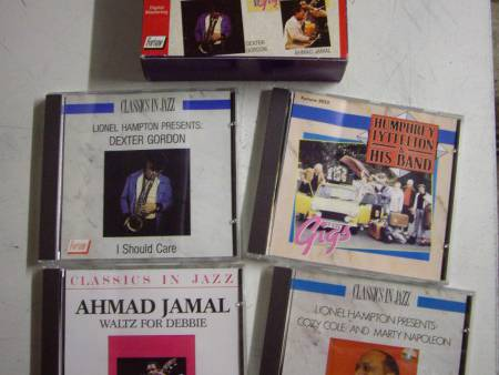 Coffret 4 CD Classics in JAZZ