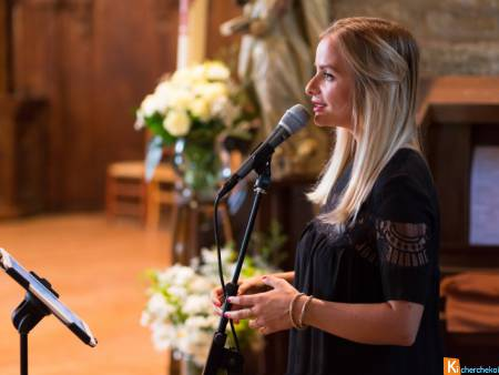 Duo chanteuse pianiste messe mariage Essonne