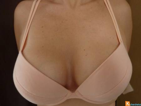 Soutien gorge abricot PUSH-UP 95C neuf Lisca
