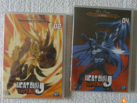 Lot de 2 DVD Heat Guy J neuf (lot8)