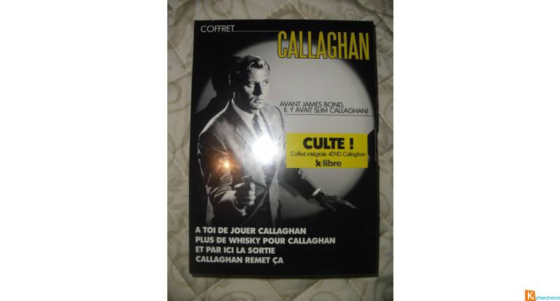 Coffret DVD: Callaghan (sous blister)