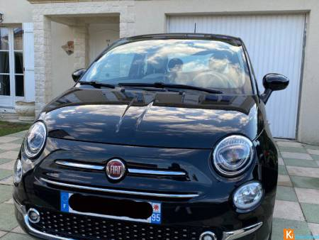 Fiat 500 1.2 69 ch, Lounge berline, black, 4 cv,