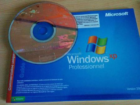 Windows XP PROFESSIONNEL + licence