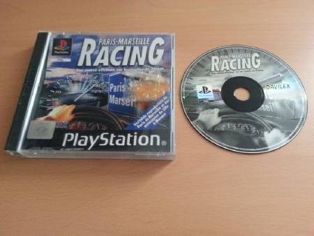 Jeu PS1 Paris-Marseille Racing