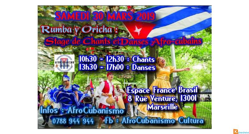 Rumba y Orichas : Stage Afro-cubain