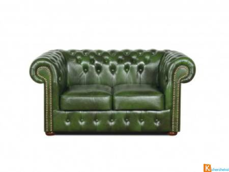 Chesterfield Classic Canapé 2 places Chic-Confort
