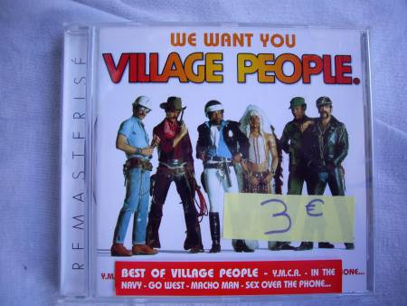 CD de VILLAGE PEOPLE, WET WET WET, Robbie WILLIAMS