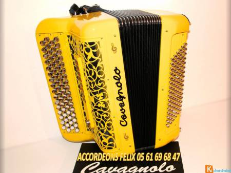ACCORDEON MIDI CAVAGNOLO ODYSSEE 3 ORCHESTRA OPTIM