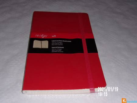 carnet de notes quadrillé