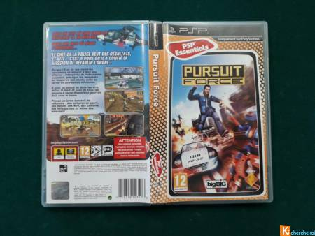 Pursuit Force pour PSP