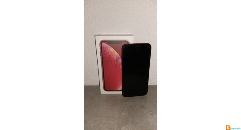iPhone XR rouge 64 go