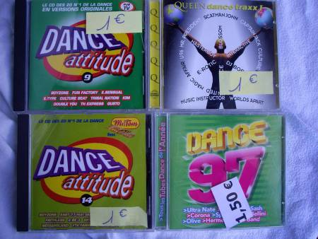Divers CD Compils et Collectors