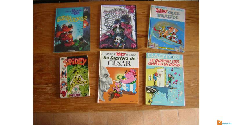 lot de bandes dessinées