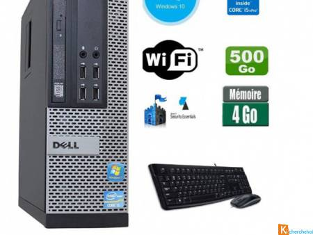 PC Dell Optiplex 790 SFF Core i3 3.1Ghz 4Gb 250Go