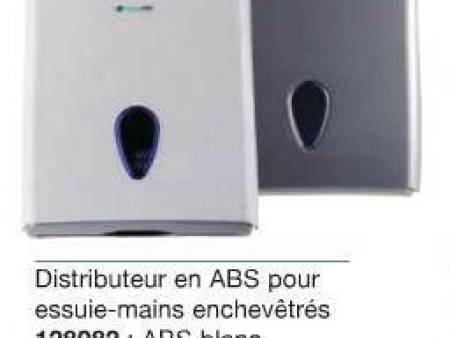 Distributeur d'essuie mains ABS l'ensemble complet